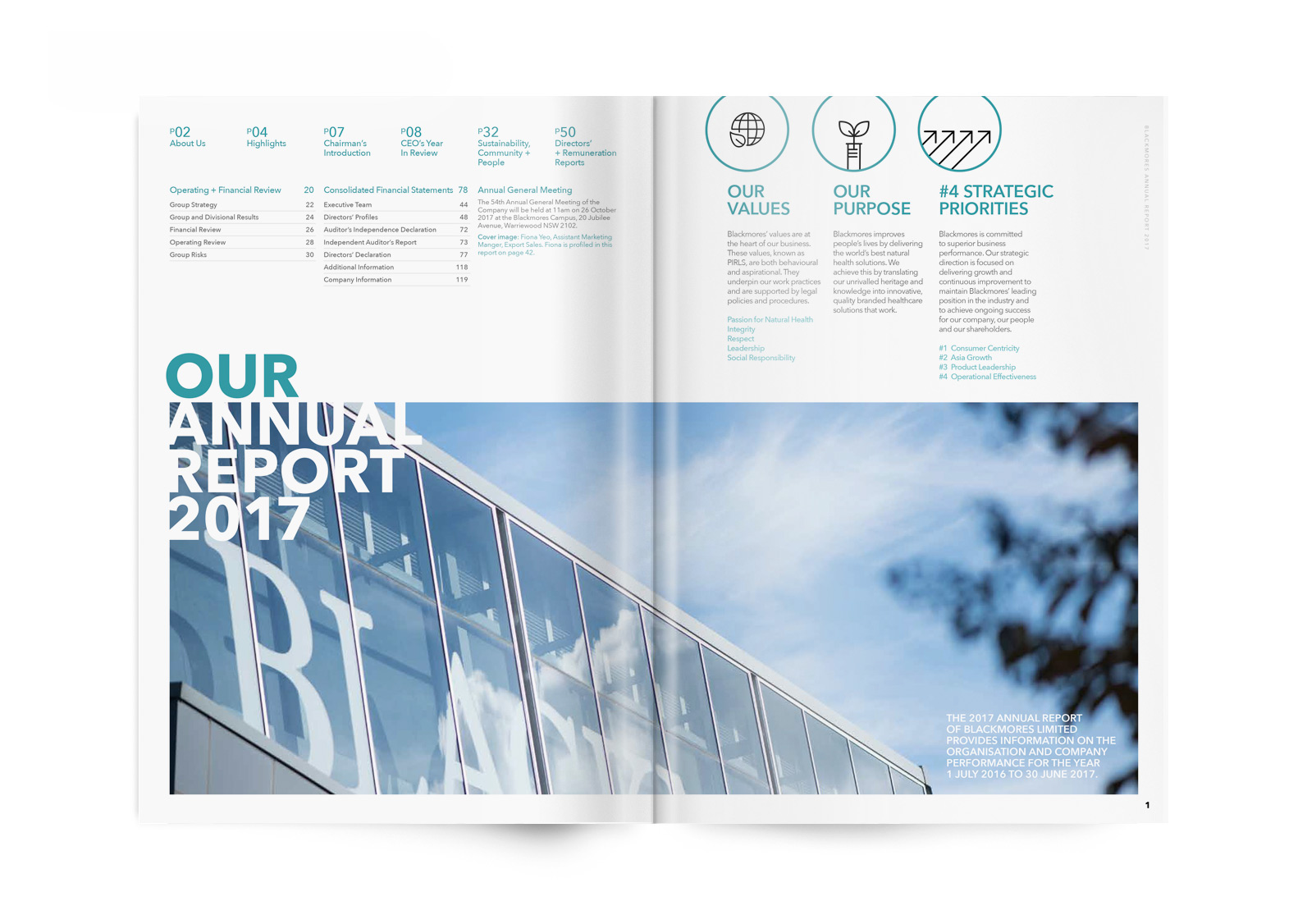 Blackmores Annual Report