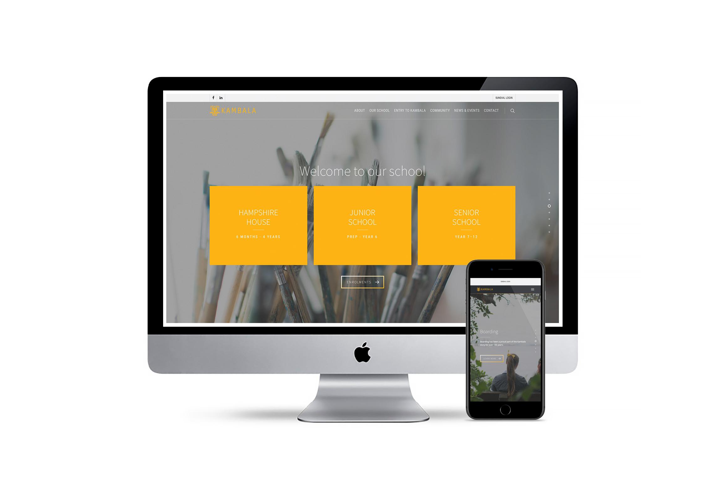 Kambala School website launched